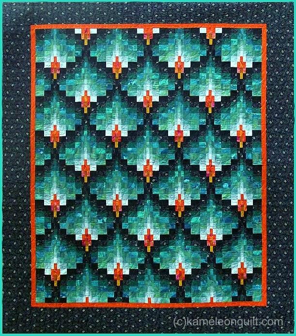 Kameleon Tekstildesign Gallery Of Bargello Quilts