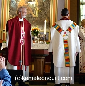 Chasubles for Bremanger church