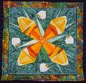 Kameleon quilt no 2 by christine Bresso