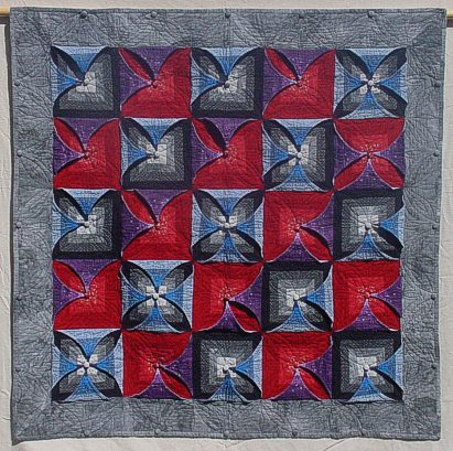 Kameleon Quilt made by Julie in Idaho