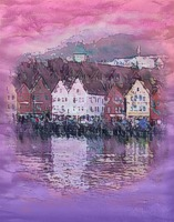 fabric print from Bergen