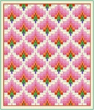 Quilting Ideas | Project on Craftsy: Bargello Flame
